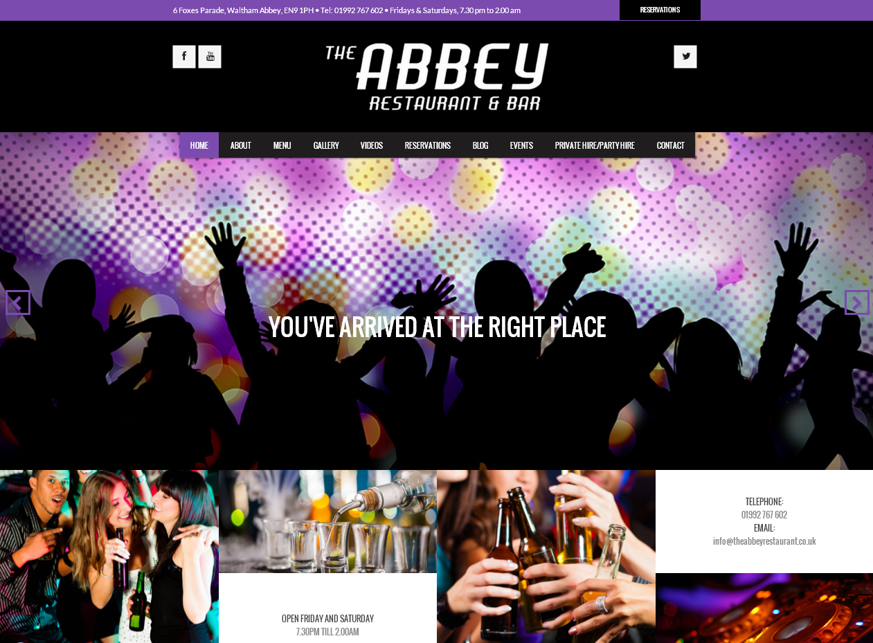 abbey restaurant latets screenshot2 nov 2015