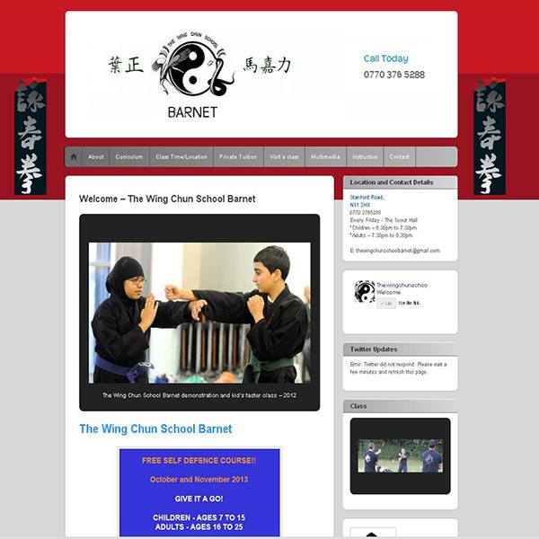 The Wing Chun School Barnet