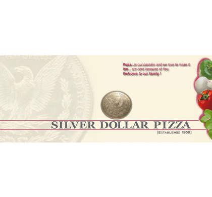 Silver Dollar Pizza UK