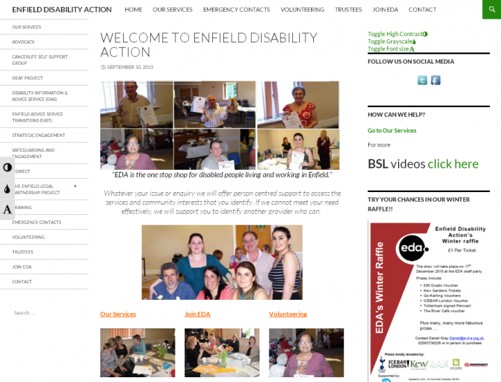 Enfield Disability Action