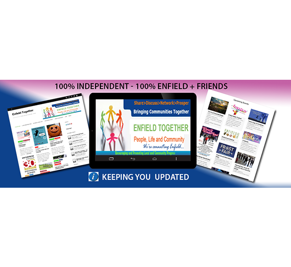Enfield Together Online Magazine – Facebook Banner update