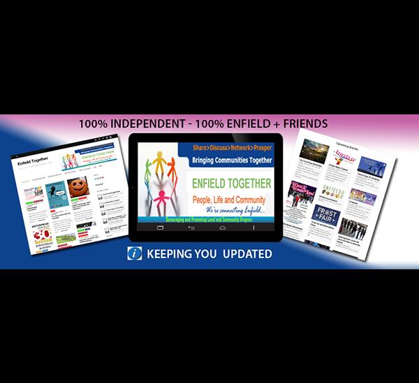 Enfield Together Online Magazine – Facebook Banner update