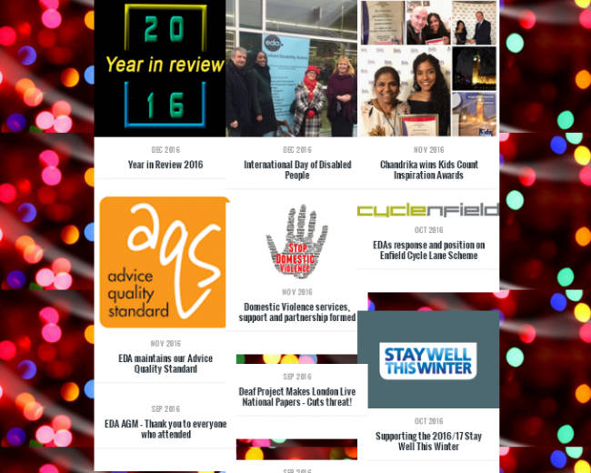 Year in Review web page