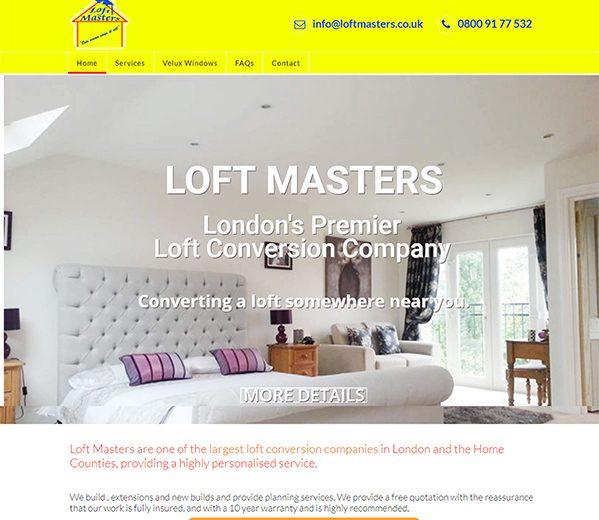 Loftmasters – Redesign