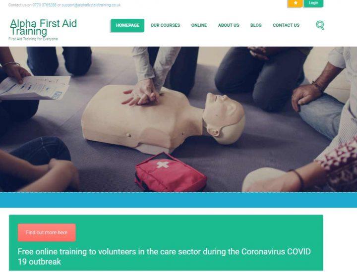 Alpha First Aid Training